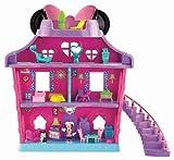Fisher Price - Filles - Set de jeu maison de poupée & figurine nœud magique Disney Minnie Mouse