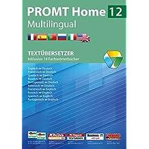 PROMT Home 12 Multilingual: Textübersetzer - Inklusive 14 Fachwörterbücher