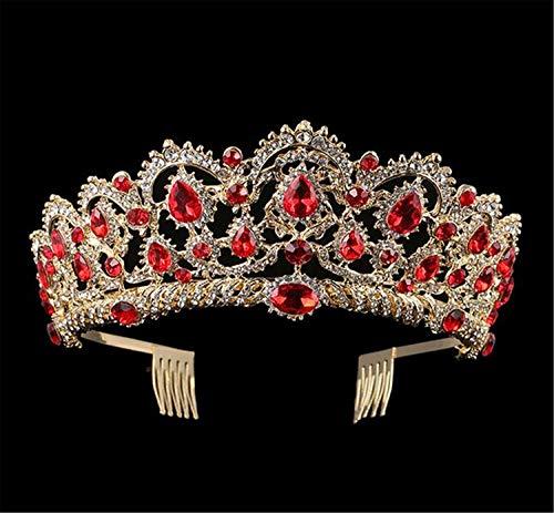 Braut Tiara, Krone Hochzeit Europa Und Amerika Mode Kristalle Glänzende Strass Decor Haar Stirnband Kopfschmuck Frauen Zubehör