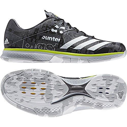 adidas Herren Counterblast Falcon Handballschuhe, Grau (Granit/ftwbla/Amasol), 39.5 EU