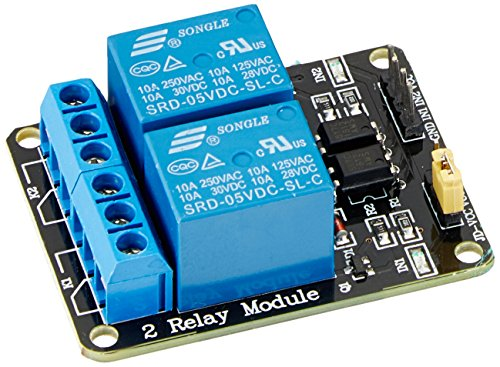 5V Dc Bobina Rettangolare Pcb Pannello 2 Canali Relè Shield Modulo Per Arduino