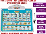 #3: Toy-Station - 7 in 1 Learning Board - Educational PAD for Kids (7 in 1 ABC Learning Board with White Board)