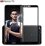 #3: WOW Imagine Pro HD+ 9H Hardness 2.5D 0.3mm Antibacterial Toughened Full Body Tempered Glass Screen Protector for Huawei Honor 7X - Black