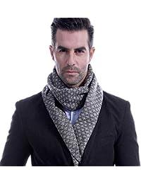 Bufanda Hombre Bufanda de hombre Exquisito Patrón Invierno Cuello cálido  Abrigo Borla suave Finaliza Mantón Bufandas 9e4f1e897fe