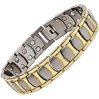 Unbekannt North South Titanium T48Silber und Gold bunt Magnetverschluss Link Armband mit GRATIS Luxus-Geschenk-Box... preisvergleich bei billige-tabletten.eu