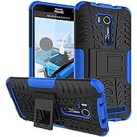 """FALIANG Asus Zenfone Go TV 5.5""""(ZB551KL) Funda, 2in1 Armadura Combinación A Prueba de Choques Heavy Duty Escudo Cáscara Dura para Asus Zenfone Go TV 5.5""""(ZB551KL) (Azul)"""