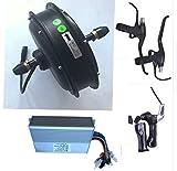 Sarah store 1000 Watt 48 V elektrische vorderradnabenmotor elektrische Fahrrad umbausatz elektrische Mountainbike kit