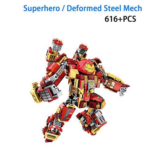 616 + PCS Super Hero Series Kinder Puzzle BAU Spielzeug Stahl Mechs Just Incarnation Kinder Geburtstagsgeschenk - Juniors Lego Bau