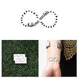 Tattify Hakuna Matata Temporary Tattoo - Circle of Life (Set of 2)