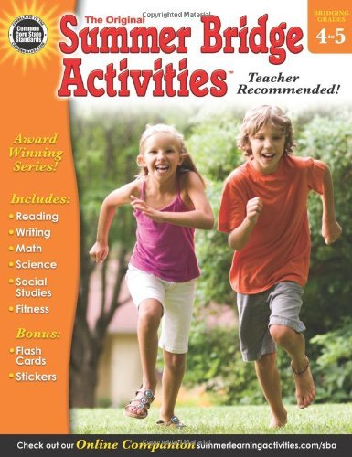 Summer Bridge Activities(r), Grades 4 - 5 by Summer Bridge Activities (Compiler, Editor), Rainbow Bridge Publishing (Compiler) (2-Jan-2013) Paperback