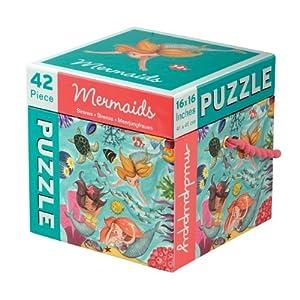 Mudpuppy - Puzzle de 42 piezas, diseño de sirenas (MPSP31471)