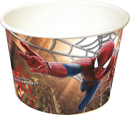 -Motiv Amazing Spiderman, 8Stück (Party Supplies-party-stadt)