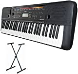 Yamaha PSR-E263 Portable Keyboard XX Frame and Headphones Package