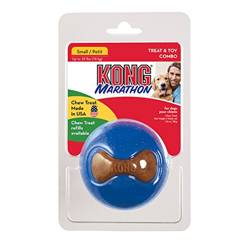 Kong Jucarie Marathon Ball Small Pm31E (Kong Ball Hundespielzeug)