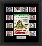 CARRY ON CAMPING FRAMED 35MM FILM CELL MEMORABILA