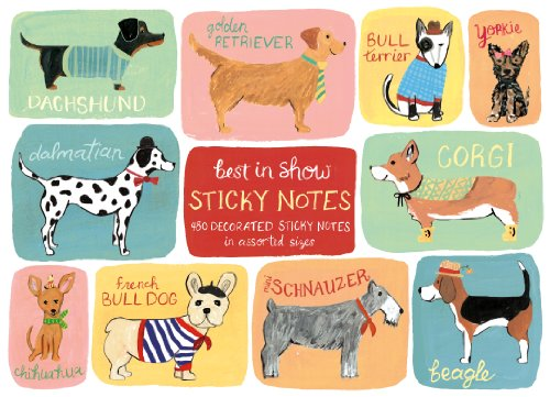 Best in Show Sticky Notes (Zubehör Heather)