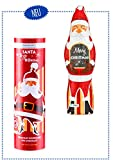 Weihnachtsmann aus Vollmilch - Schokolade SANTA TO GO - HOHOHO (75 Gramm /...