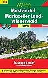 Mostviertel - Mariazeller Land - Wienerwald 1 : 100 000. Rad- und Freizeitkarte. GPS-Punkte, Freizeitführer, Ortsregister
