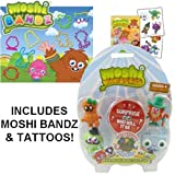 Picture Of MOSHI MOSHLINGS SERIES 4 BLISTER PACK ~ MOSHI BANDZ & MOSHI TATTOOS
