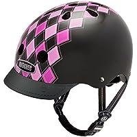 Nutcase Street Helmet - Casco da bici per adulti, Multicolore (Preppy Pink), Small (52-56 cm)