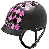 Nutcase - Street, Fahrradhelm für Erwachsene, Mehrfarbig (Preppy Pink), Gr. S (52-56 cm)
