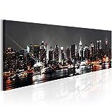 murando - Bilder 115x40 cm - Leinwandbilder - Fertig Aufgespannt - Vlies Leinwand - 1 Teilig - Wandbilder XXL - Kunstdrucke - Wandbild - New York d-B-0090-b-a