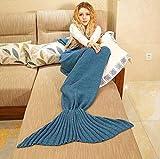 The Vogue Nation Woollen Mermaid Tail Blanket, Sleeping Bag