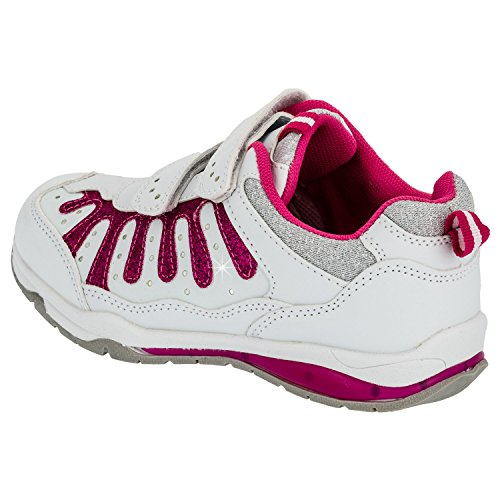 Fille Paillettes Chaussures de sport en 3couleurs - #825 Weiss