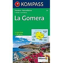 Kompass Karten, La Gomera (KOMPASS-Wanderkarten, Band 231)