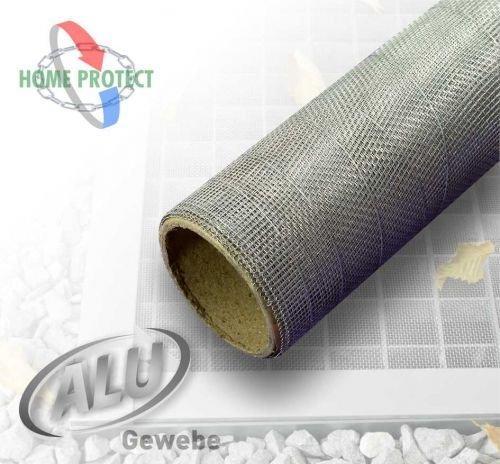 Aluminium Gewebe Alu Rolle Insektenschutz Lichtschachtabdeckung Größe und Farbe 100x120 cm anthrazit