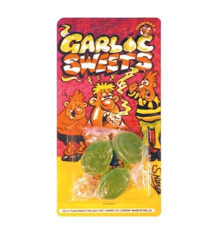 Funnyman - caramelle all'aglio, scherzo di carnevale