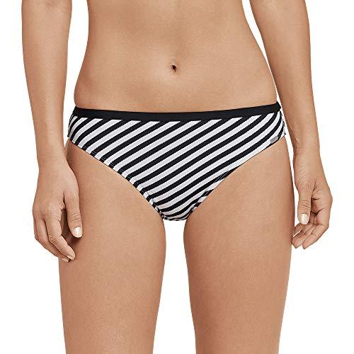 Schiesser Damen Mix & Match Bikinislip Tai Bikinihose, Schwarz (Schwarz 000), 42 (Herstellergröße: 042) - Mix Und Match Tankinis