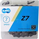 KMC Chain Z7 Cadena Estrecha, Unisex Adulto, marrón, 114 eslabones