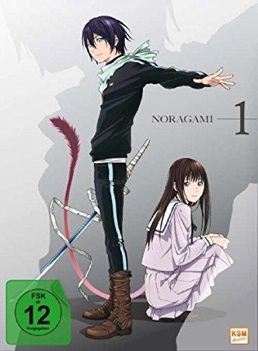 Noragami - Episode 01-06 (Digipack im transparenten Kunststoff Zier-Schuber als Limited Edition)