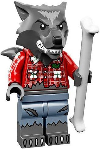 Lego Series 14 Minifigures 71010 (Lego Series 14 Wolf Guy)