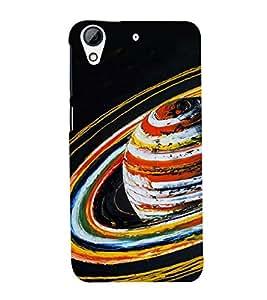 PrintVisa Animated Planet 3D Hard Polycarbonate Designer Back Case Cover for HTC Desire 728 Dual Sim :: HTC Desire 728G Dual Sim