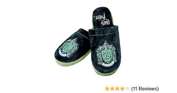 23116432476 Harry Potter Slytherin Crest Slip On Slippers  Amazon.co.uk  Shoes   Bags
