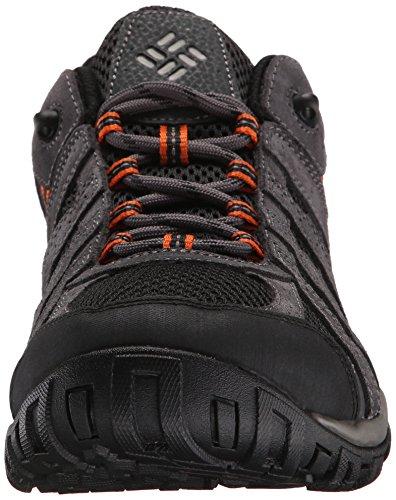 Columbia Redmond, Chaussures de Randonnée Basses homme Black, Heatwave