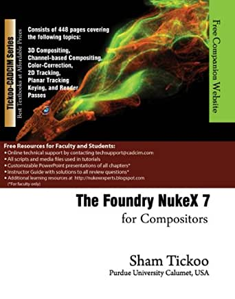 The Foundry Nuke X 7 for Compositors eBook: Prof  Sham