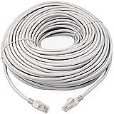 TRIXES Câble de raccordement pour connexion CAT5e RJ45 Ethernet LAN 50m
