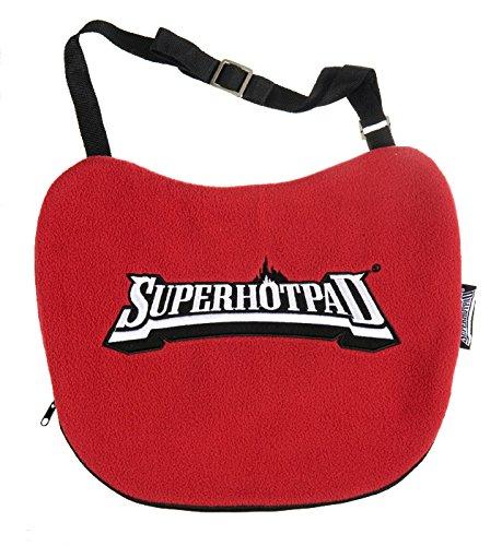 SUPERHOTPAD, orginal Thermositzkissen, Stadionkissen, Sitzkissen, Wärme auf Knopfdruck