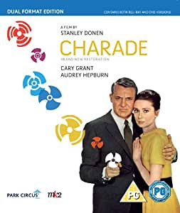 Charade: A Beautiful New Restoration (Dual Format Edition) [Blu-ray + DVD]