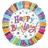 "Radiante""Happy Birthday"" palloncino foglio"