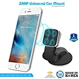 #3: ZAAP®(USA) MAGNETIC TOUCH TWO (3rd Generation) Premium Car Mount Interior Fittings /Desk Mount/Car mobile holder [Award Winning--Made in KOREA] Universal compatible for Smartphones with 360 degree rotation & fully adjustable view. Perfect for Car & desk Mounting. Mobile holder (Black, Car accessories)