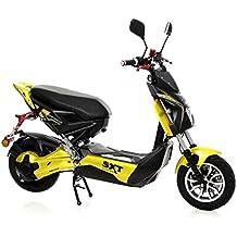 SXT Raptor 1200 con Motor cubo 2 Asiento Bicicleta eléctrica Negro/Amarillo