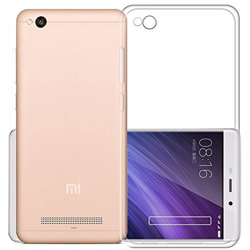 Soft Jel Ultra Thin 0.3mm Full Protection Premium Clear Tpu Case Back Cover For,Trasparent Xiaomi Mi Redmi 4A  available at amazon for Rs.88