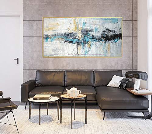 200x140 cm GBHL Estereosc/ópico 3D en relieve Belleza gris Pintura al /óleo Arte abstracto Moderno Mural de pared Dormitorio de la sala de estar 78.7 por 55.1 pulg.