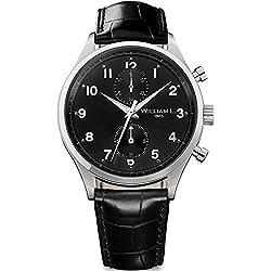 Reloj William L. para para Hombre WLAC02NRCN