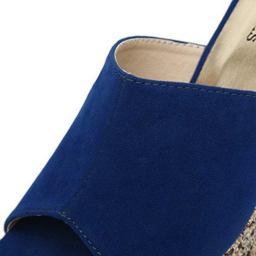 BalaMasa , Chaussons pour femme Bleu