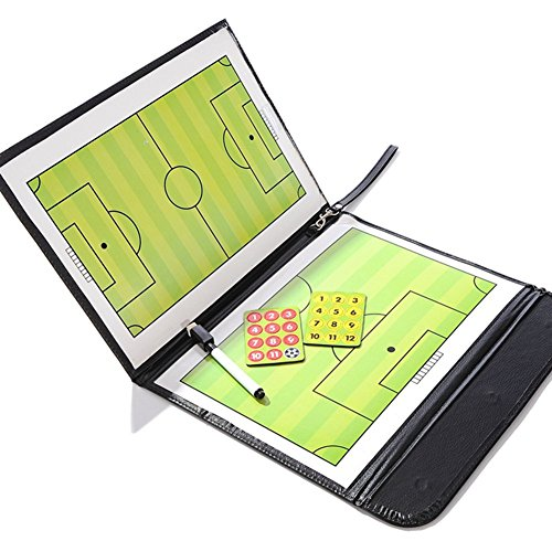 katech-soccer-coach-magnetic-board-portable-football-tactics-strategy-board-with-pen-and-eraser